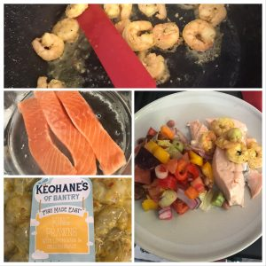Salmon & Prawns are excellent foods for arthritis pain.