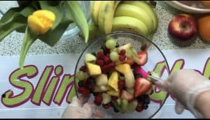 Fresh fruit is perfect for reducing inflamation