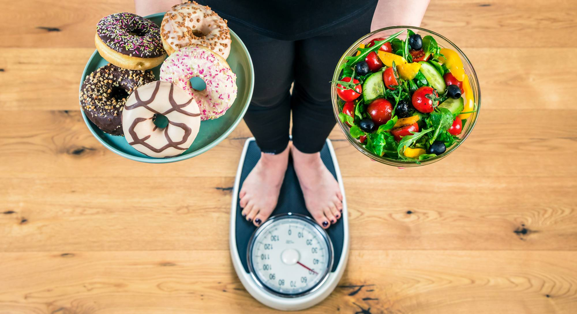 Make smart healthier choices to lose weight