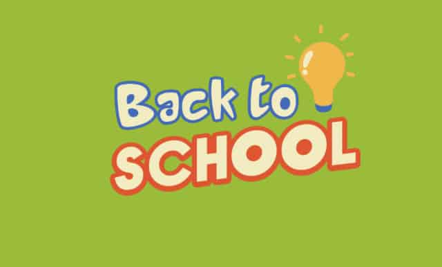 Back-to-School Season and weight loss