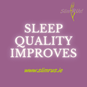 Sleep quality is improved with weight loss