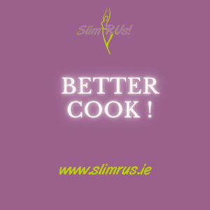 Cooking better is a benefit of a healthier lifestyle